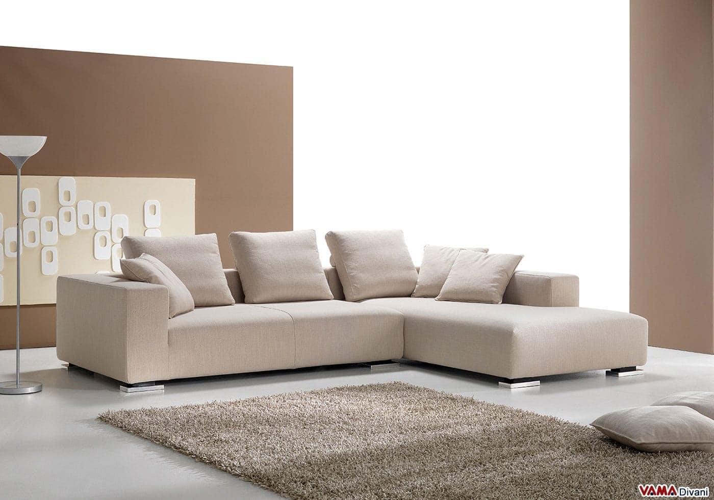 Divani angolari in tessuto ikea idee per il design della for Prezzi divani moderni