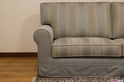 Seduta e schienale a righe