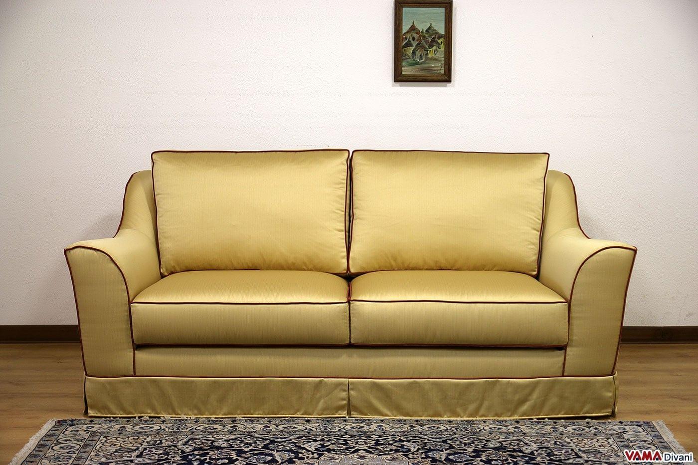 Divano giallo tessuto idee per il design della casa - Prodotti per pulire il divano in tessuto ...