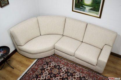 divano angolare tessuto