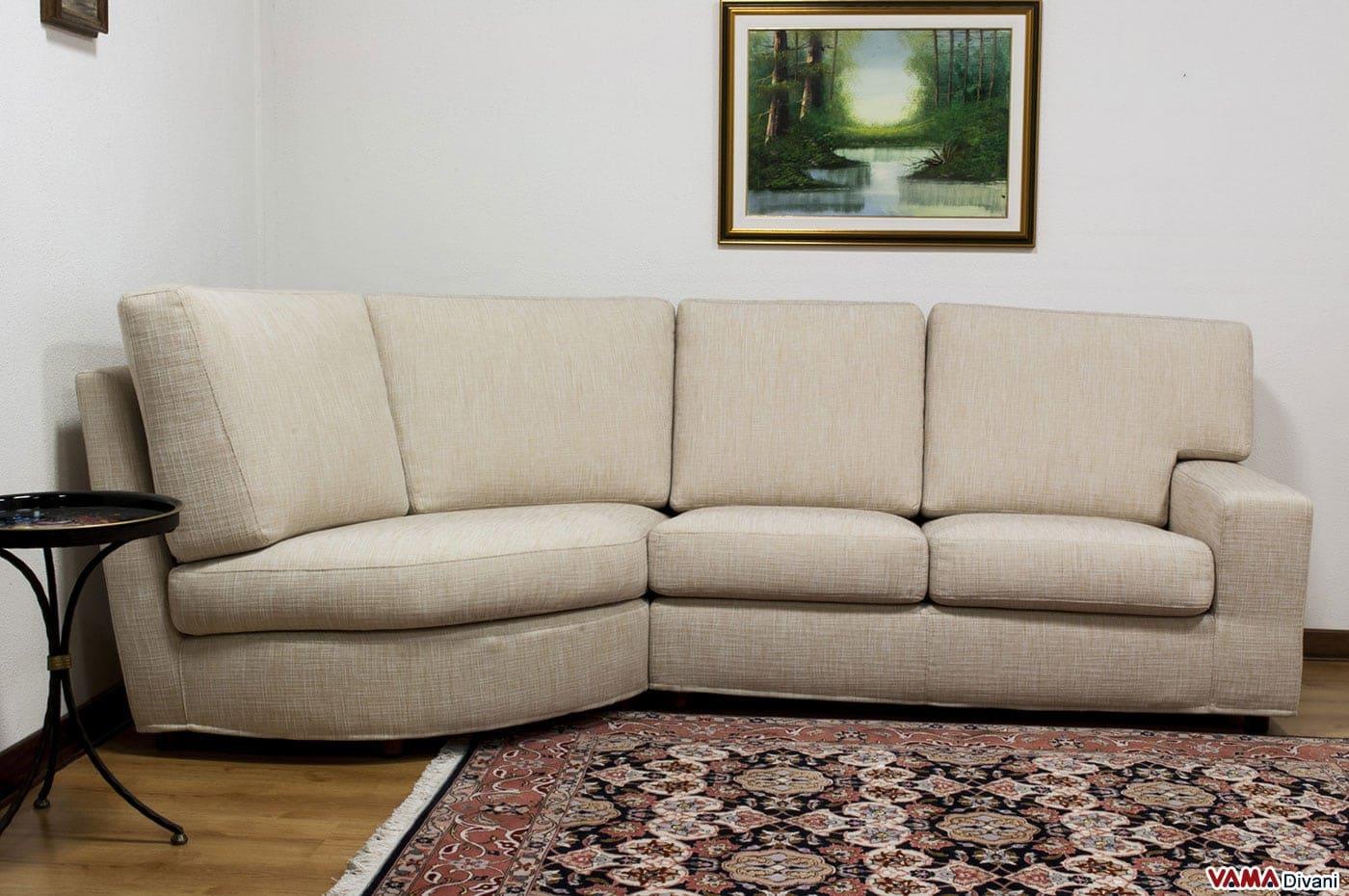 Divani piccoli dimensioni idee per il design della casa - Dimensioni divano con isola ...