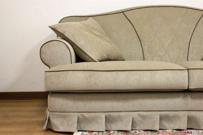 Particolare del divano plutone