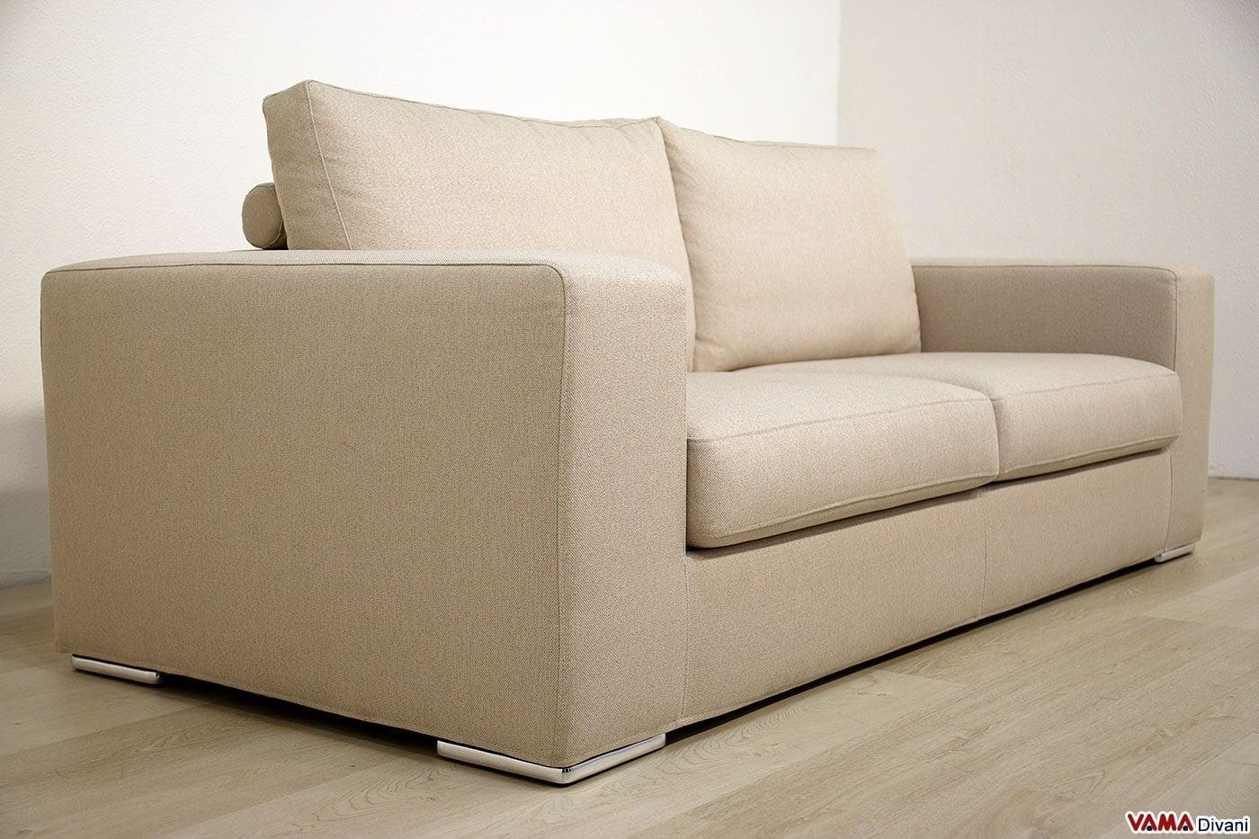 Divano moderno mercurio vama divani - Tessuto rivestimento divano ...