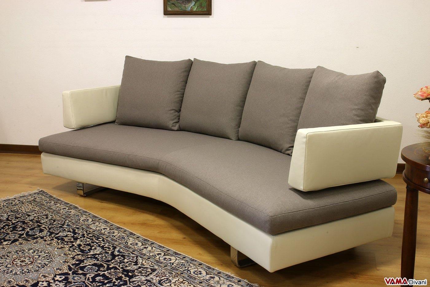 Divani Curvi Anni : Divani curvi latest divano curvo con struttura in legno