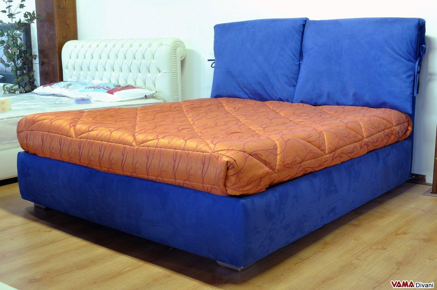 Divano letto con secondo letto estraibile mondo convenienza - Divano letto blu ...