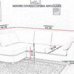 Misure divano angolare piccolo