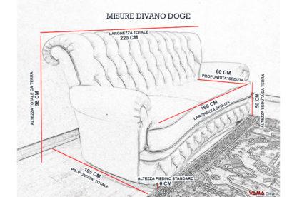 Misure divano 3 posti