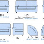 Misure del divano semiangolare