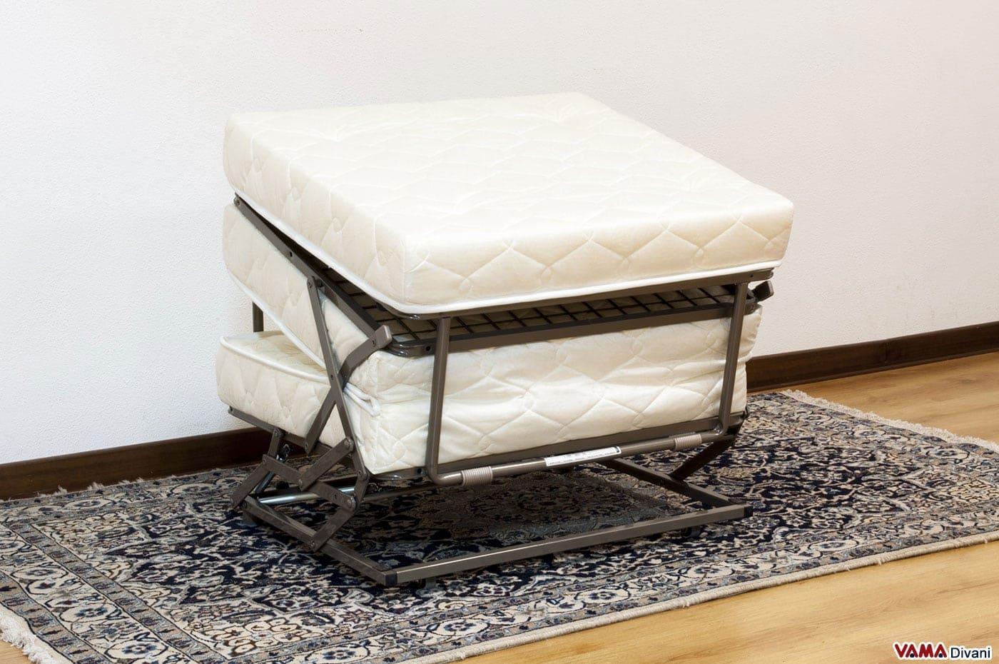 Pouf letto singolo sfoderabile - Prezzi e vendita on line
