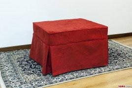 Pouf letto o con Contenitore - Pouf Classici o Moderni anche su misura