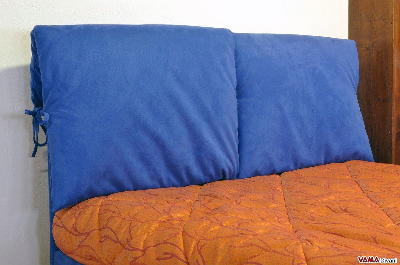 Letti con contenitore offerte top letto sommier con - Cuscini testata letto ...