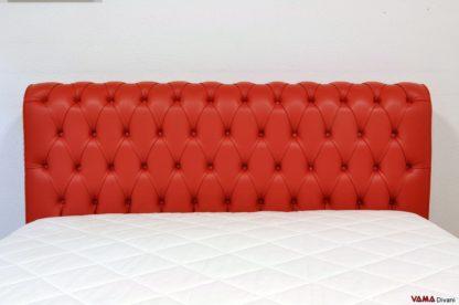 Piccola testata letto classica
