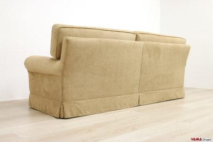 Dietro del divano classico sfoderabile in tessuto