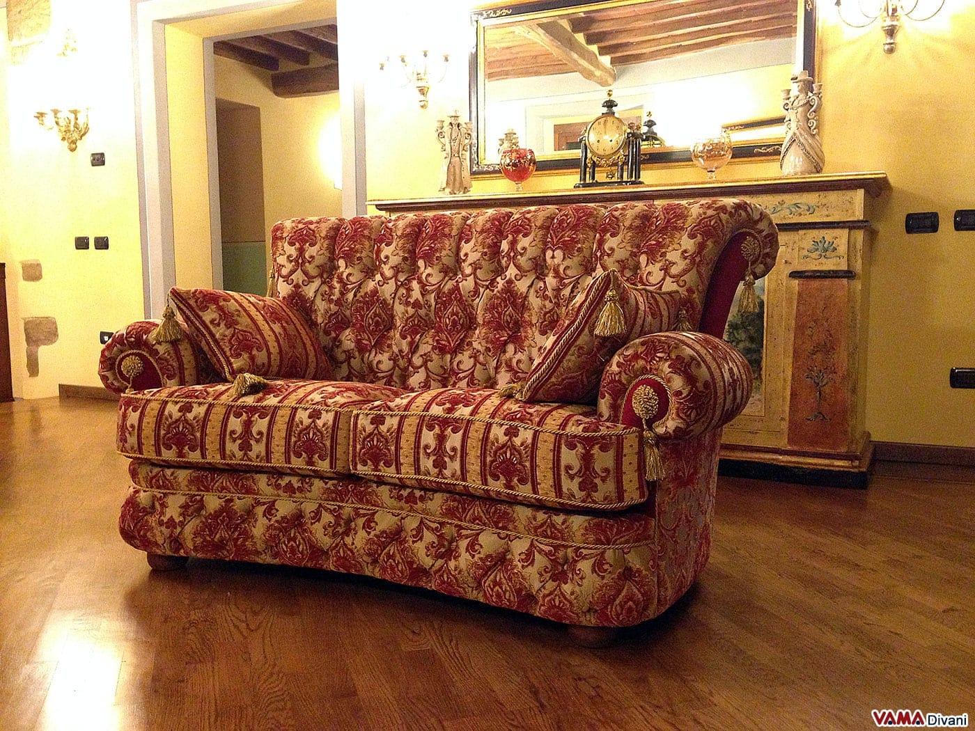 Divano tessuto damascato idee per il design della casa - Divano tessuto damascato ...