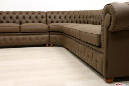 Bracciolo e sedute del divano Chester componibile