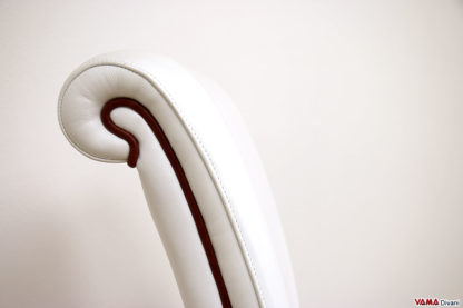 Schienale sedia in pelle da camera