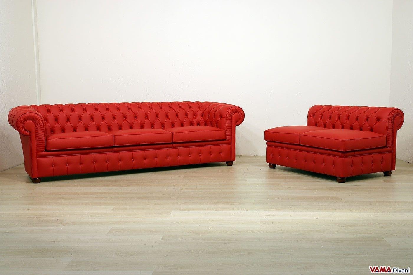Divani chesterfield modificati su richiesta del cliente vama divani - Divano su misura ...