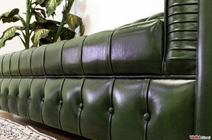 Dormeuse Chesterfield Cuscino in Capitonnè