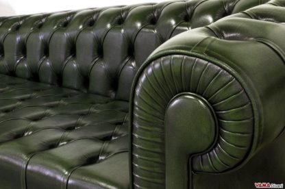 Dormeuse Chesterfield tutta in Capitonnè