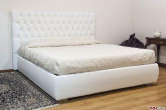 Letto Senza Testiera Cuscini : Letti imbottiti contenitore su misura vama divani