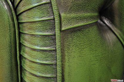 Pelle Invecchiata Verde Inglese