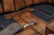 Unire i divani ad Angolo Chesterfield
