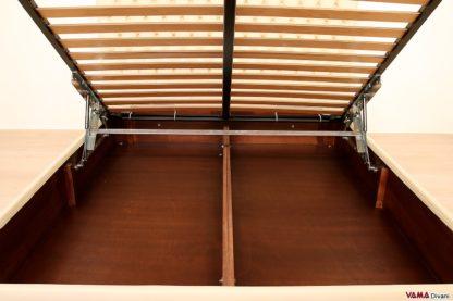 Interno contenitore letto verniciato legno