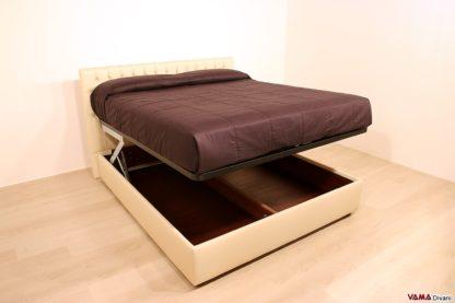 letto contenitore con doppio movimento