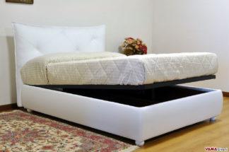 Letti Di Lusso Prezzi : Letti imbottiti contenitore su misura vama divani
