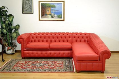 Divano Chester con chaise longue