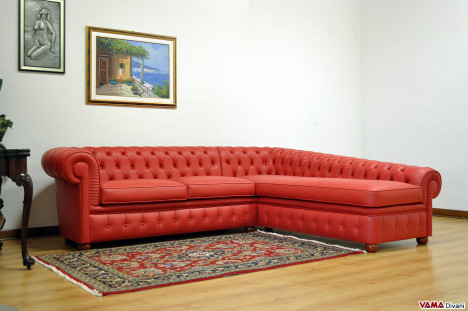 Dormeuse Chesterfield Angolare
