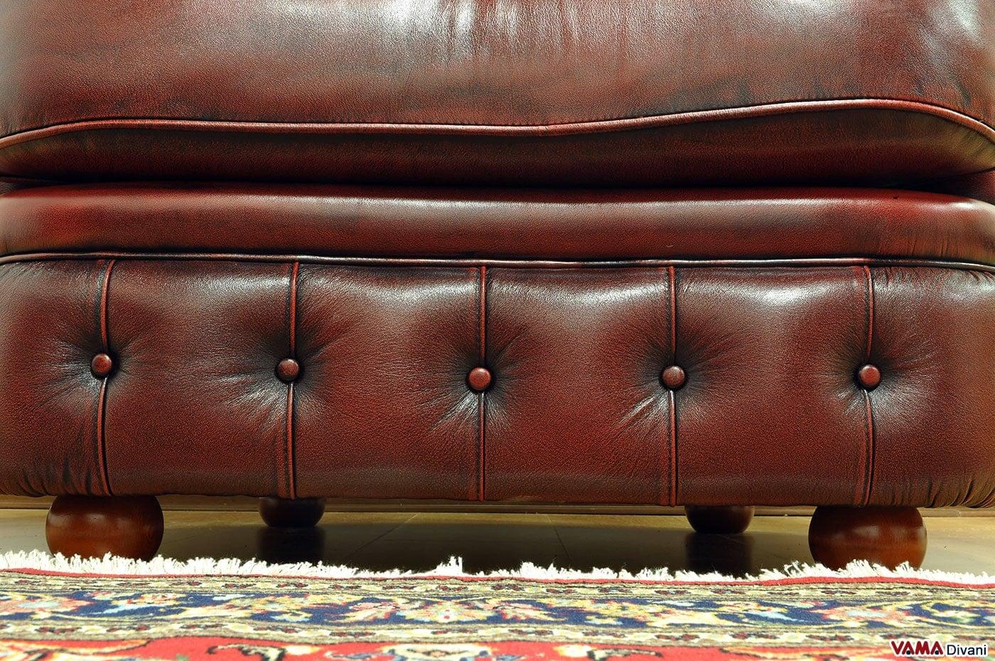 Divano pelle vintage idee per il design della casa - Divano pelle vintage ...