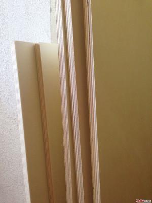 Multistrato di pioppo utilizzato nei letti contenitore