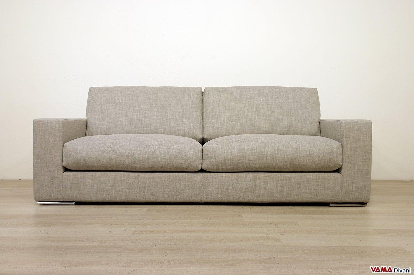 Divano moderno zoe vama divani for Divano moderno