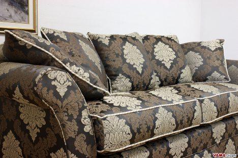 Divani classici di lusso in tessuto damascato