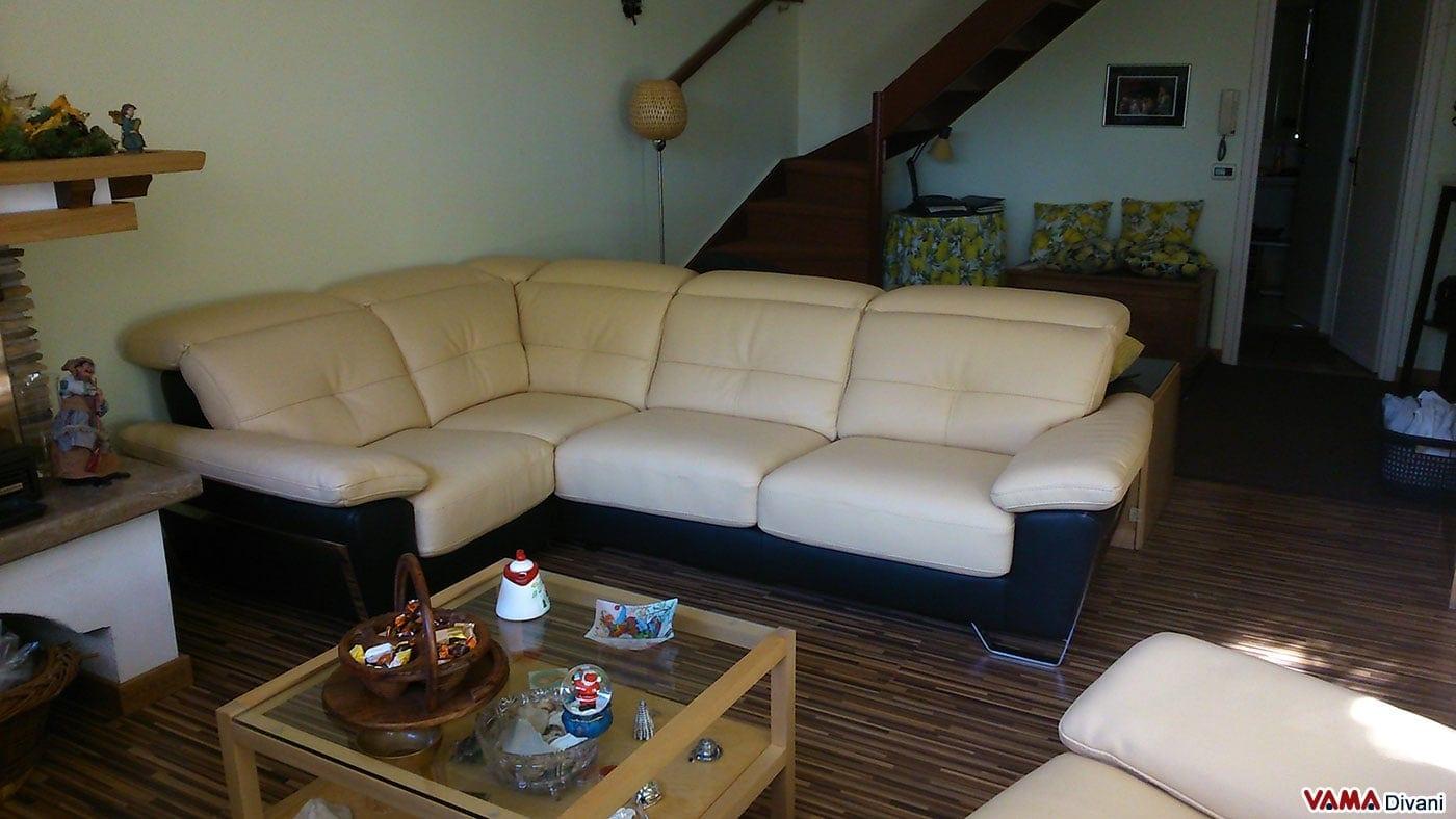 Rifoderare divano in pelle idee per il design della casa for Rivestire divano pelle