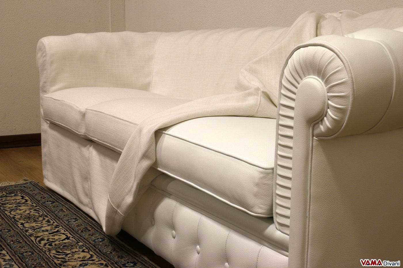 Foderare Divano Ikea : Come coprire un divano rovinato idee di immagini casamia