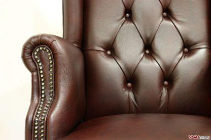 Poltrona in pelle per uffici di lusso
