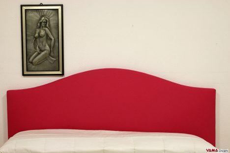 Testata letto fuxia rossa letto matrimoniale