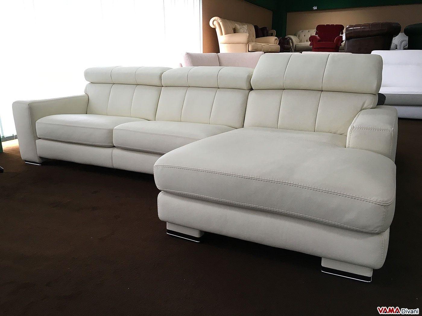Offerta divano con penisola missouri vama divani - Divano angolare usato ...