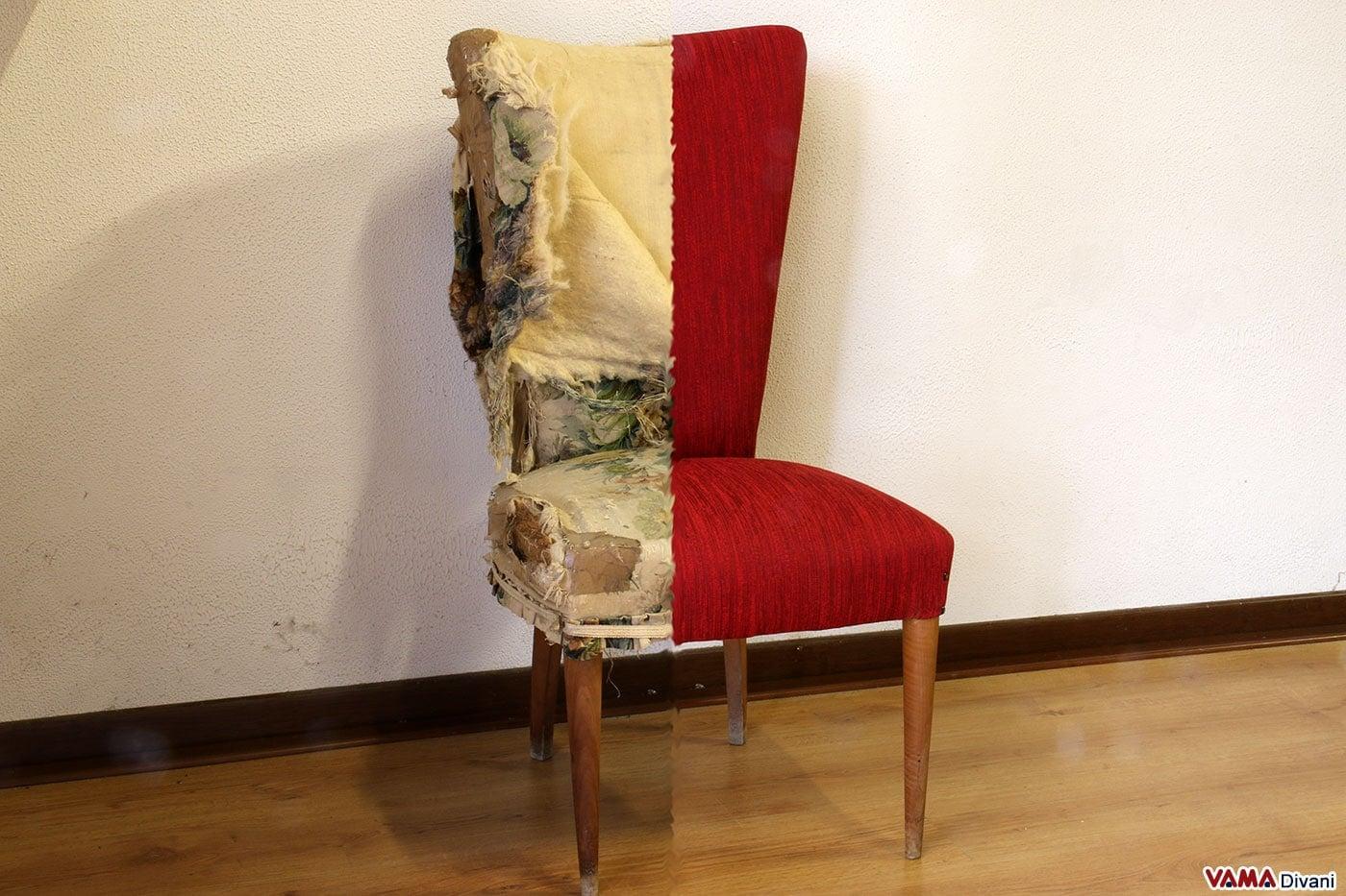 Sedie antiche da restaurare fy68 regardsdefemmes for Rivestire una vecchia poltrona