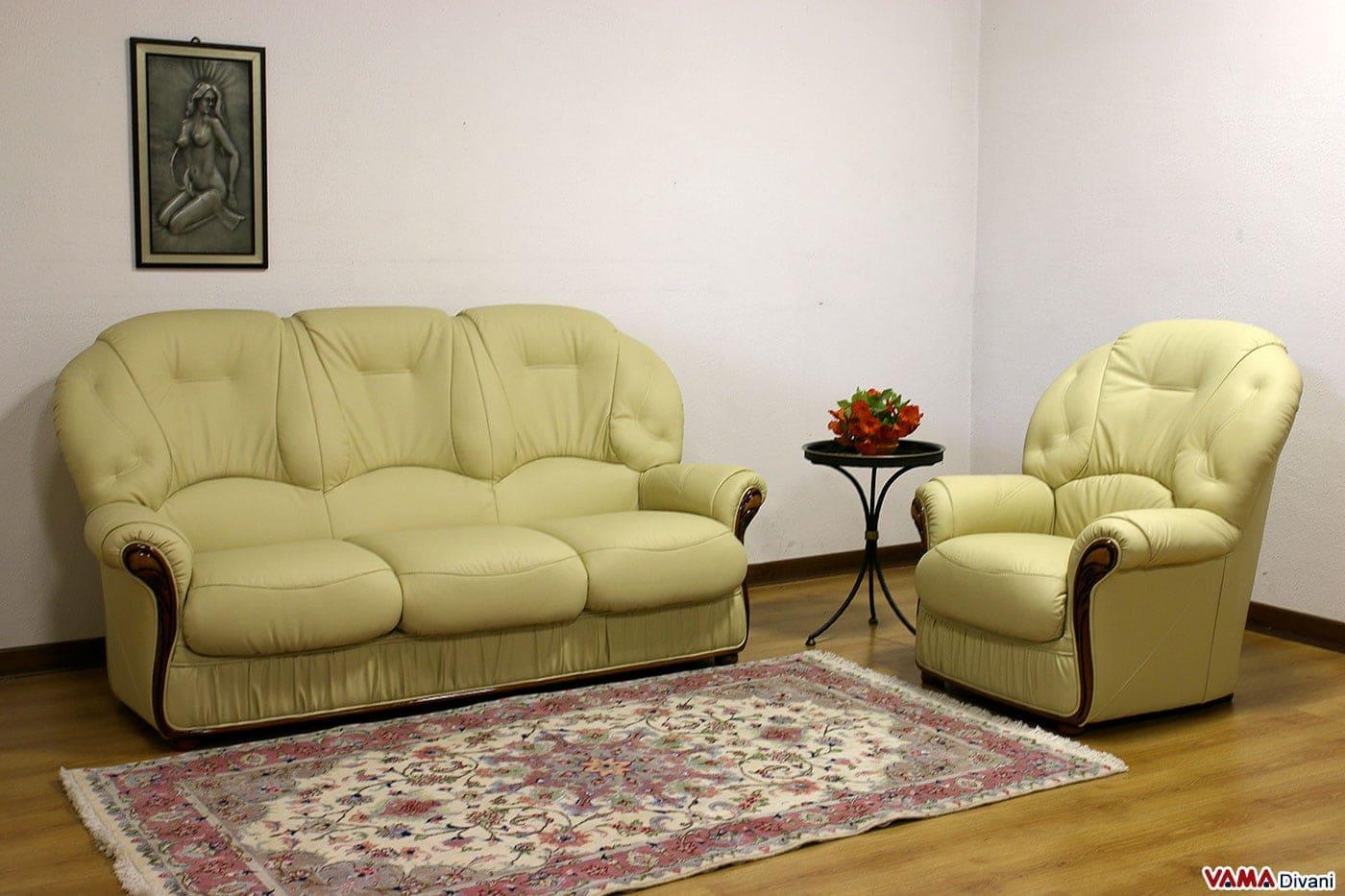 Divano rustico ikea design casa creativa e mobili ispiratori - Poltrona pelle ikea ...