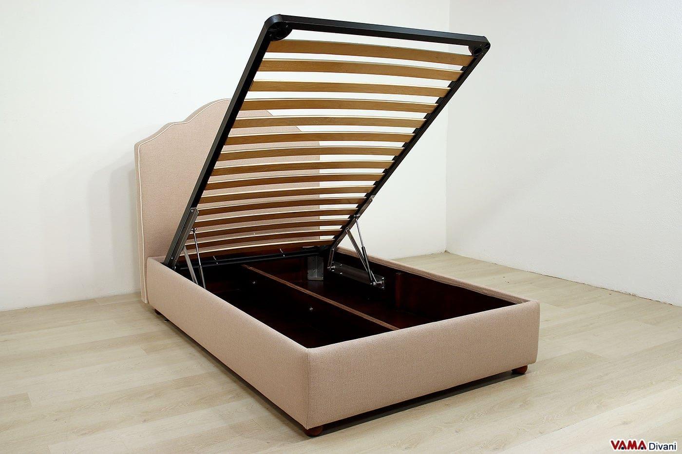 Emejing letto contenitore 1 piazza e mezza gallery - Letto contenitore 1 piazza e 1 2 ...