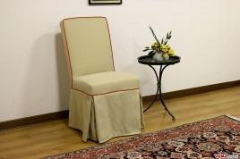 Sedia imbottita elegante per sala da pranzo