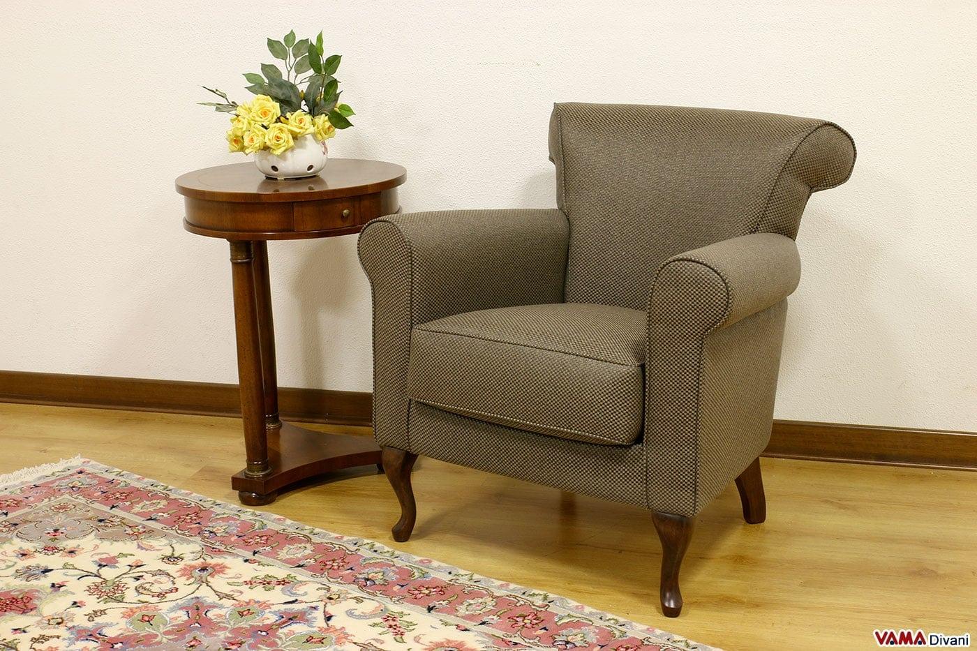 Poltroncina daria vama divani - Poltrone da camera moderne ...