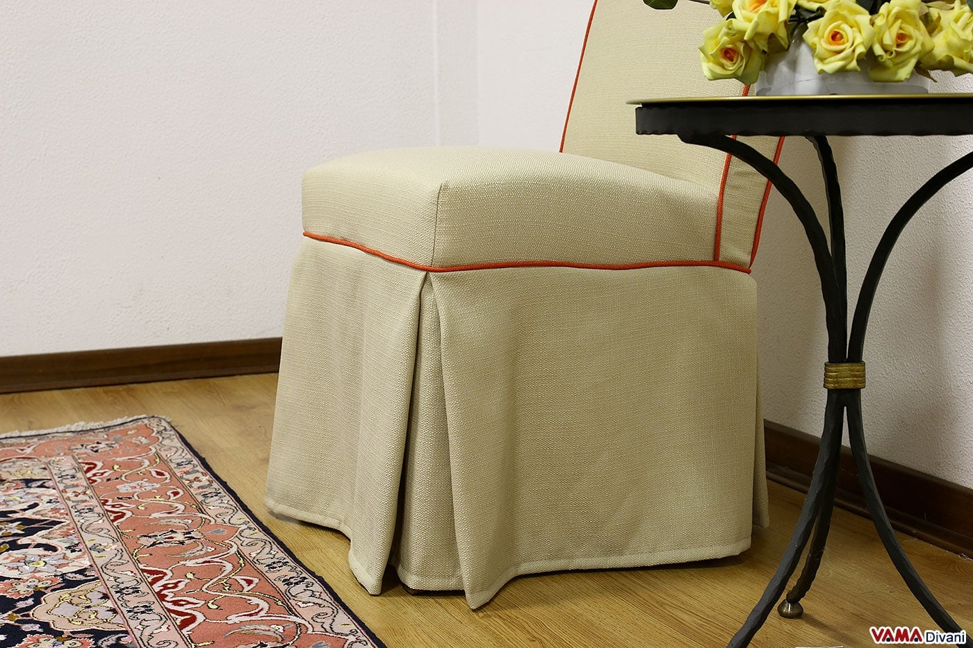Sedia Imbottita Per Sala Da Pranzo In Tessuto Sfoderabile #A94122 1400 933 Sedia Imbottita Per Sala Da Pranzo