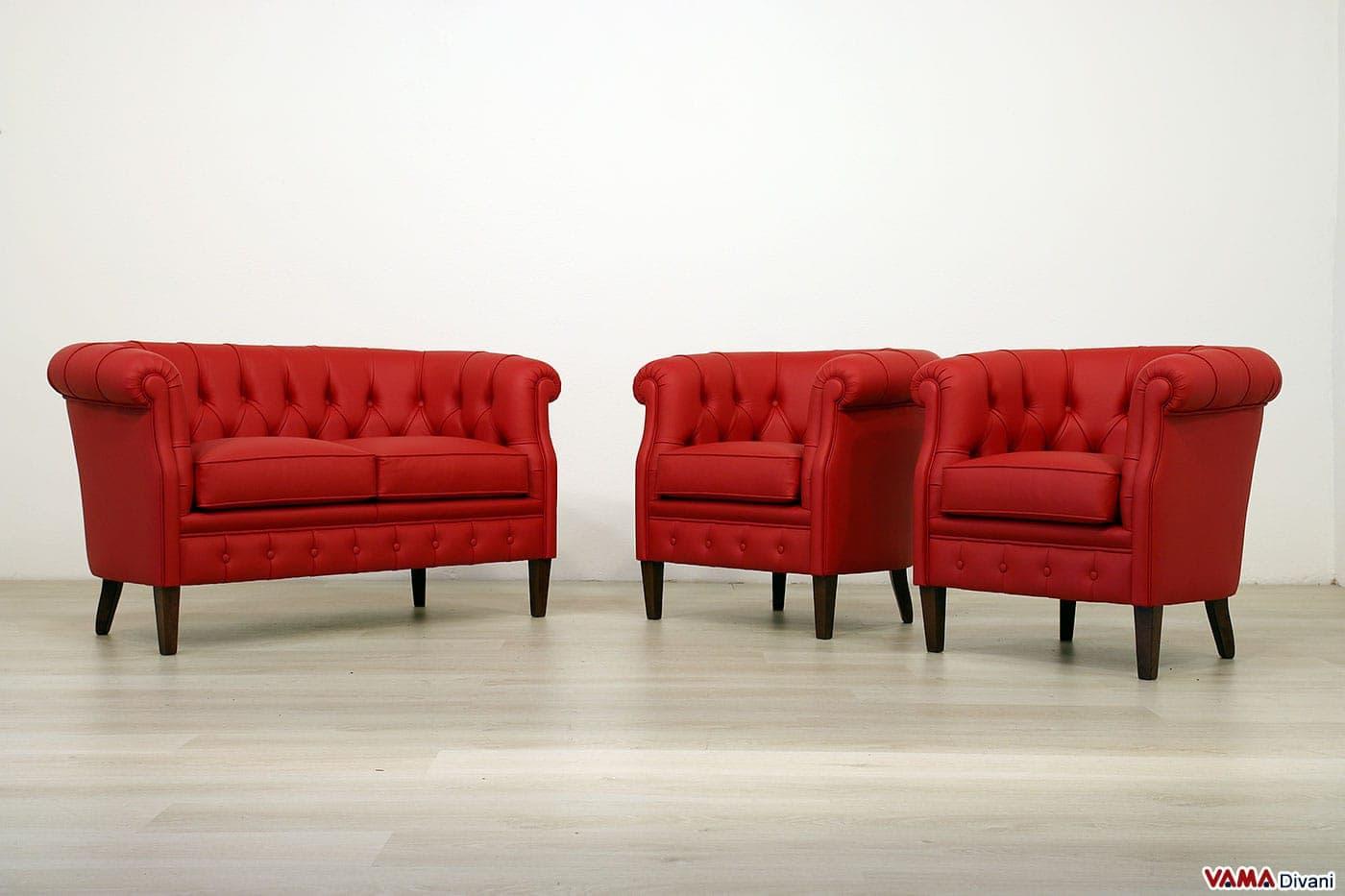 Archivio fotografico realizzazioni per i clienti vama divani for Poltroncine in pelle