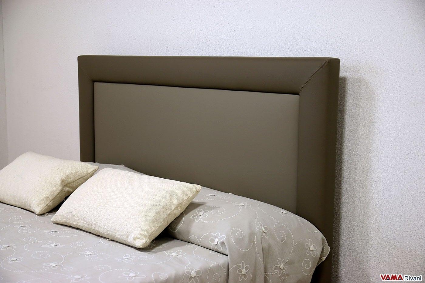 Elegant testate letto imbottite per letti senza testiera e - Testate letto con cuscini ...