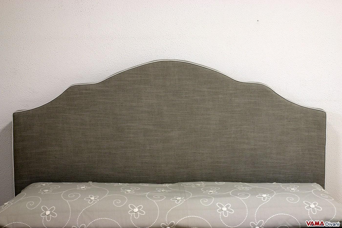 Spalliera letto shabby in stile classico