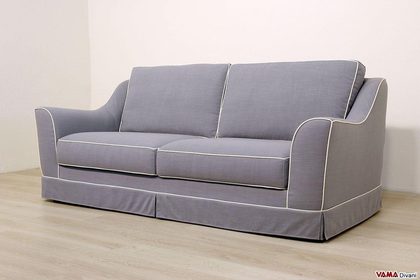 divani in tessuto classici e moderni anche su misura